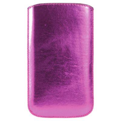 Trendz Pouch Metallic Universal Hot Pink
