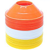 Precision Training Mini Pro Cones Orange / Yellow / White (Set of 60)