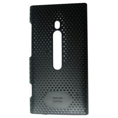 Works with Nokia Airflow Metal-Look Case for Nokia N800 Lumia - Black