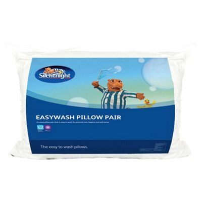 Silentnight Easy Wash Pillow 2 pack