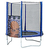 Plum King's Fortress Trampoline and Enclosure