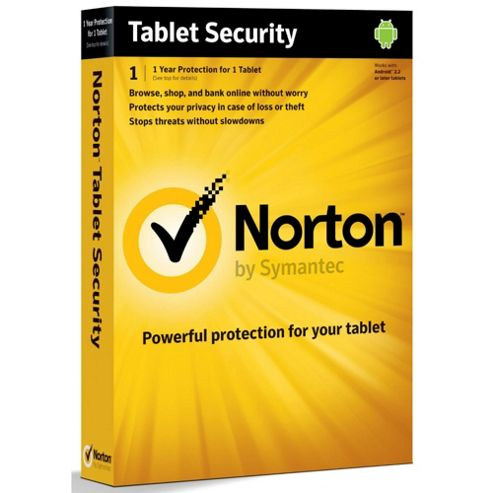 Norton Tablet Security 2012