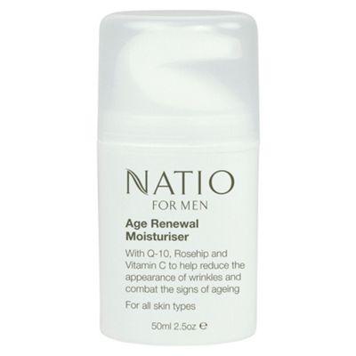 Natio Natio For Men Age Renewal Moisturiser