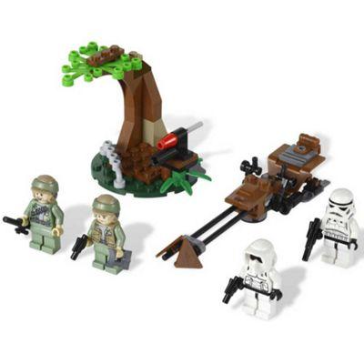Lego Star Wars Endor Rebel Trooper & Imperial Trooper Battle Pack