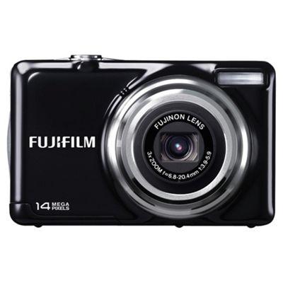 Fujifilm FinePix JV300 Digital Camera, Black, 14MP, 3x Optical Zoom, 2.7 inch LCD Screen