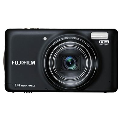 Fujifilm FinePix T350 Digital Camera Black, 14MP 10x Optical Zoom 3.0