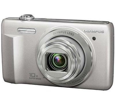 Olympus VR-340 Digital Camera, Silver, 16MP, 10x Optical Zoom, 3.0 inch LCD Screen