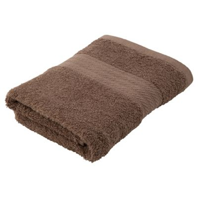 Plain Taupe Hand Towel