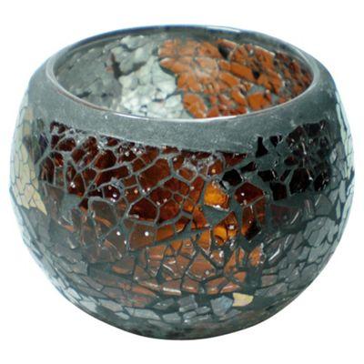 Tesco Mosaic Maxi Sotuhstar Tealight Holder Bronze