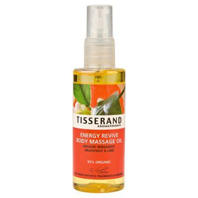 Tisserand Energy Revive Body Massage Oil