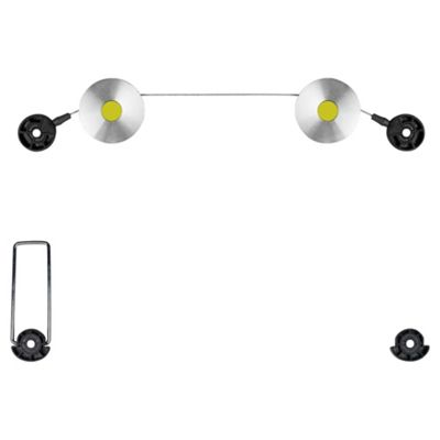 Video Basics (400X400 VESA) LED Wire Mount Silver / Black