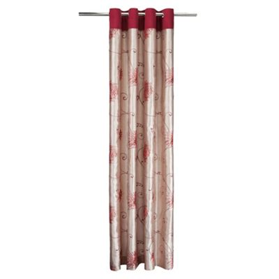 Tesco Chrysanthemum Lined Eyelet Curtains W163xL229cm (64x90