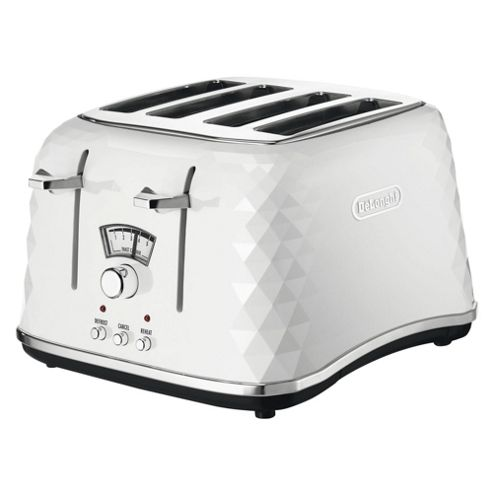 ... Designer 4 Slice Toaster- White from our Toasters range - Tesco