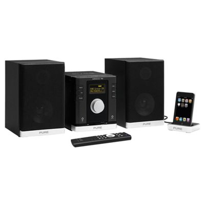 PURE SIROCCO 150 DAB/FM/CD/USB/SD MICRO HIFI SYSTEM WITH iPOD DOCK