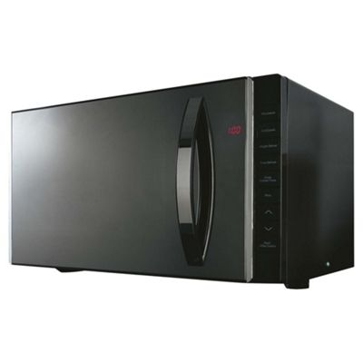 Tesco Plus Microwave Oven with Grill 23L - Black