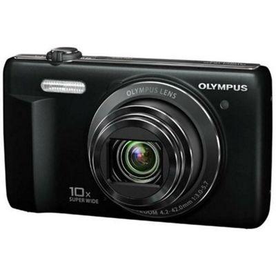 Olympus VR-340 Digital Camera, Black, 16MP, 10x Optical Zoom, 3.0 inch LCD Screen