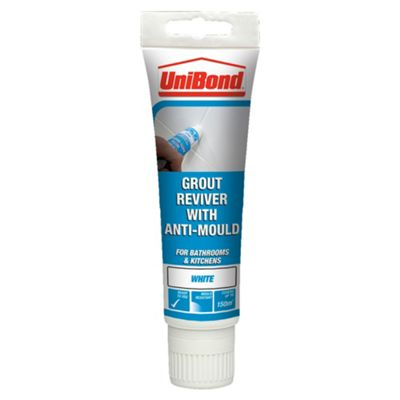 Henkel Unibond 999473 Grout Reviver Floor and Wall 125ml Ice White