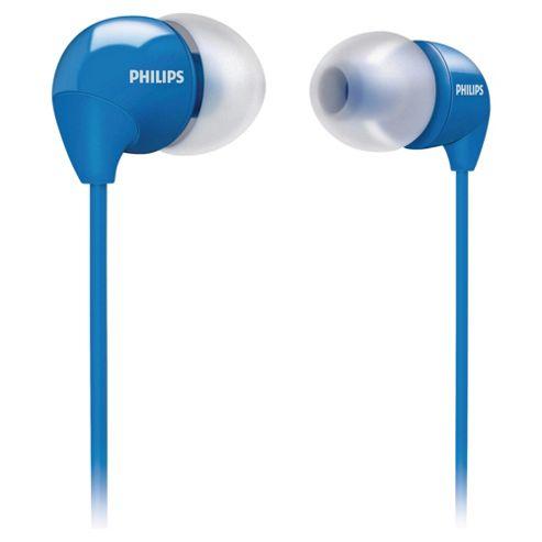 Philips In-Ear Headphones Blue SHE3590BK/10