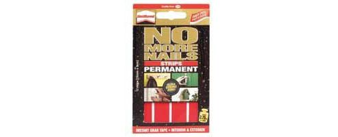 UniBond No More Nails Permanent Strips, 10 pack