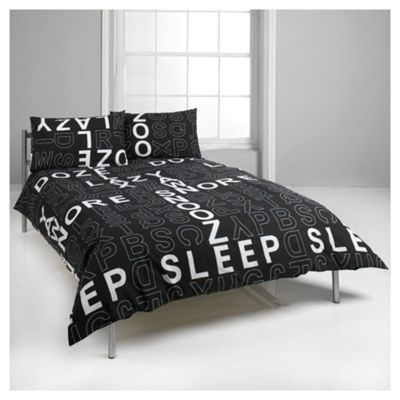 Crossword Kingsize Size Duvet Cover Set