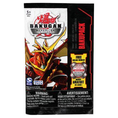 Bakugan Baku Pack- Assortment – Colours & Styles May Vary