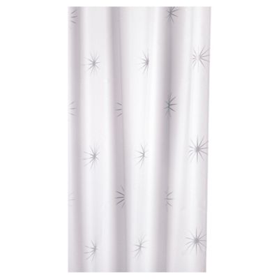Croydex Steller Textile Shower Curtain