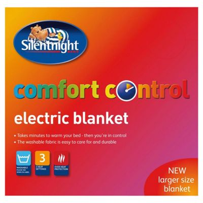 Silentnight standard electric blanket, single
