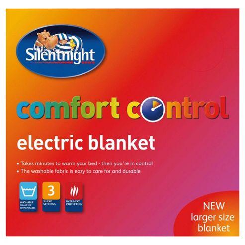 Silentnight standard electric blanket, single