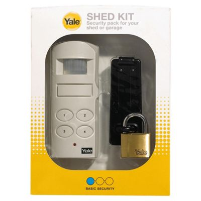buy yale shed kit alarm system from our personal alarms. Black Bedroom Furniture Sets. Home Design Ideas