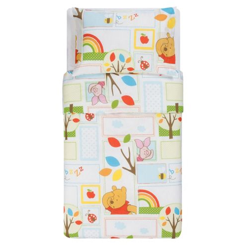 Winnie The Pooh Numbers Toddler Bed In A Bag
