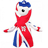 London 2012 Union Jack Wenlock 25cm Soft Toy