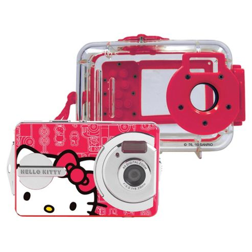 Hello Kitty 5.1MP Digital Camera with Waterproof Case.