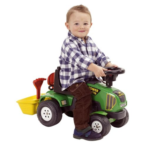 New Falk Tractor And Trailer Ride-On
