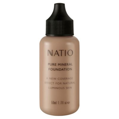 Natio Pure Mineral Foundation - Medium Tan