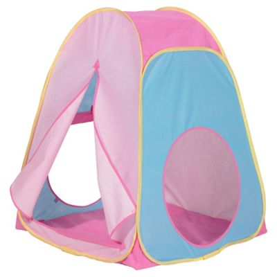 Worlds Apart Pop-Up Play Tent, Pink