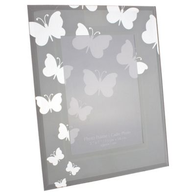 5X7 Glass Butterfly Frame