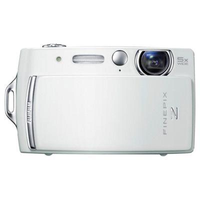 Fujifilm FinePix Z110 Digital Camera, White, 14MP, 5X Optical Zoom, 2.7 LCD