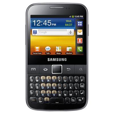 Tesco Mobile Samsung Galaxy Y Pro Black