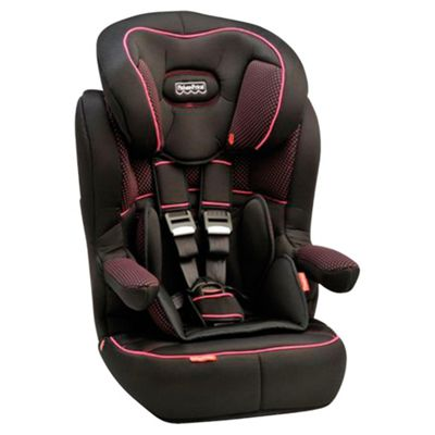 Fisher Price Safe Voyage Deluxe Grow With Me Car Seat Pink Dots