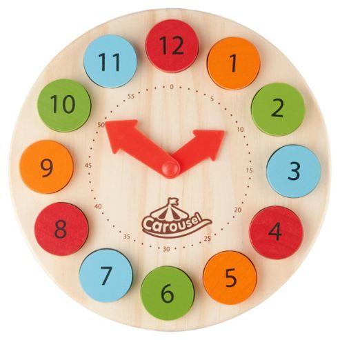 Carousel Wooden Time Teacher
