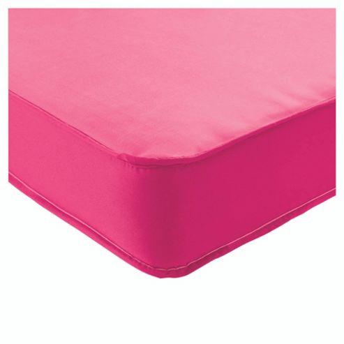 Airsprung Single Mattress, Essentials Kids Waterproof, Pink