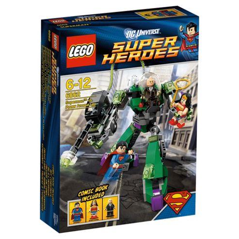 LEGO Super Heroes Superman vs Lex Luthor's Power Armour 6862