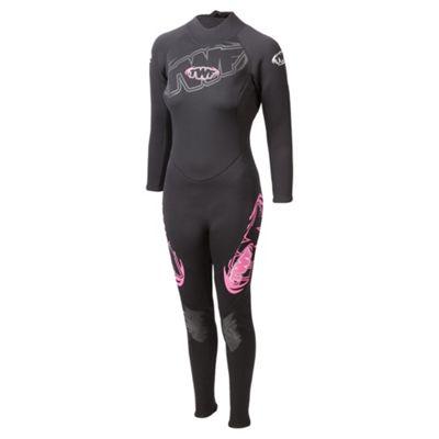 TWF Full Women's 2.5mm Wetsuit 14 Pink