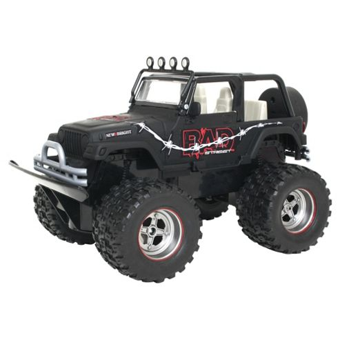 New Bright RC Toy Car Bad Street Jeep 1:20 Scale