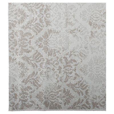 Tesco Rugs Damask Flatweave Rug Natural 120x170cm