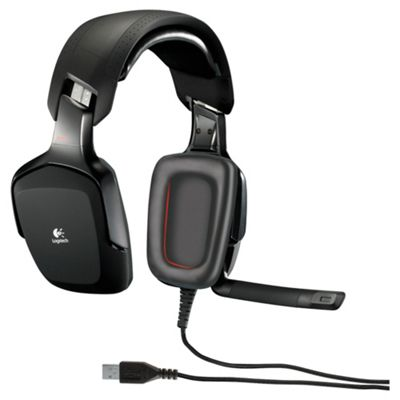 Logitech Overhead Gaming Headset & Micr USB Stereo Black G35