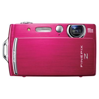 Fujifilm FinePix Z110 Digital Camera, Pink, 14MP, 5x Optical Zoom, 2.7 inch LCD Screen