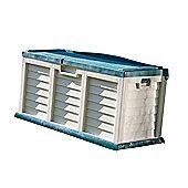 Rowlinson Plastic Garden Storage Bench