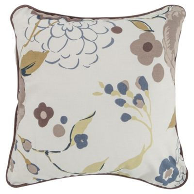 Tesco Cushions Jasmine Blossom Cushion, Mocha