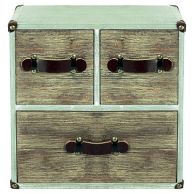 Two Tone Wooden Square Unit